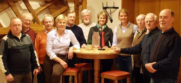 "Treffen mit dem Kegelclub ""Schmandlecker"" in Greven"