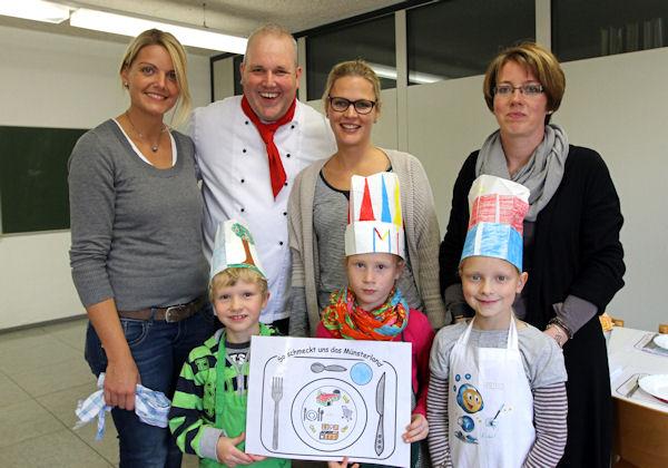 """""""So schmeckt unseren Kindern das Münsterland"""" – Gemeinsam mit André Böwing und der Wettringer Schule"""