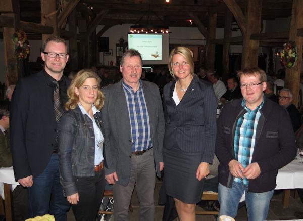Besuch beim Landwirtschaftlichen Ortsverein Emsdetten