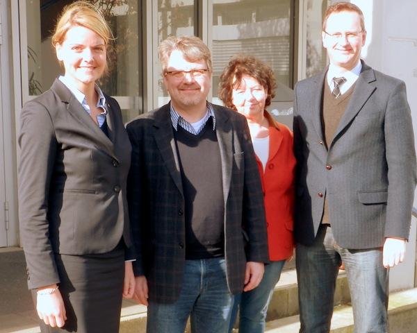 Gespräch mit Dr. Stefan Berger, Hochschulpolitischer Sprecher der CDU-Landtagsfraktion, an der FH in Steinfurt
