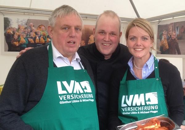 """""""So schmeckt das Münsterland unseren Kindern"""" – Showkochen auf dem Frühjahrsmarkt Emsdetten"""