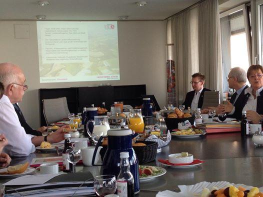 Arbeitsfrühstück zum ZukunftsLAND – Regionale 2016 im westlichen Münsterland