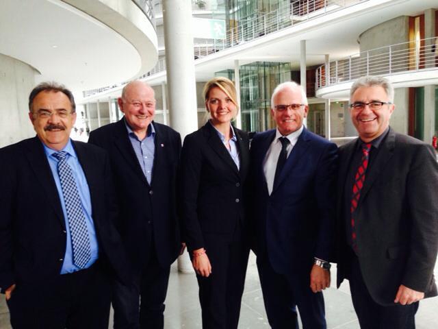 Austausch zum EEG und den aktuellen Themen der Agrarsprecher von CDU/CSU mit dem Parlamentarischen Staatssekretär Peter Bleser in Berlin