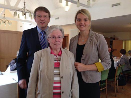 Politisches Frühstück der Senioren Union Metelen mit CDU-Bürgermeisterkandidat Gregor Krabbe