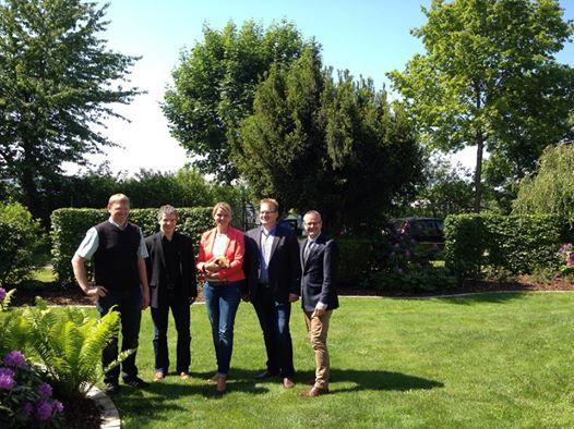 Besuch auf dem Betrieb der Familie Noje mit meinem Kollegen Volker Jung MdL in Delbrück – Westenholz