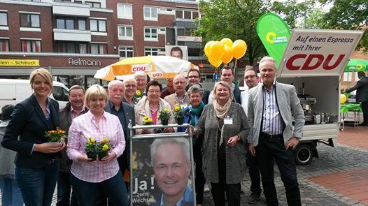 Wahlkampf-Endspurt mit der CDU Greven