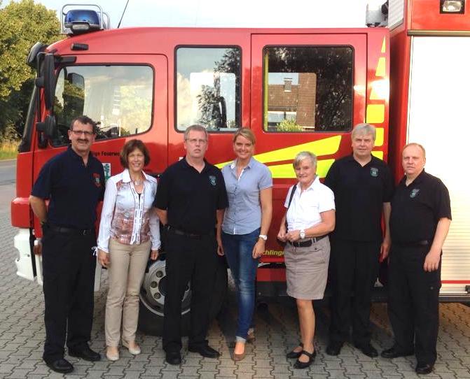 Besuch bei der Freiwilligen Feuerwehr in Nordwalde