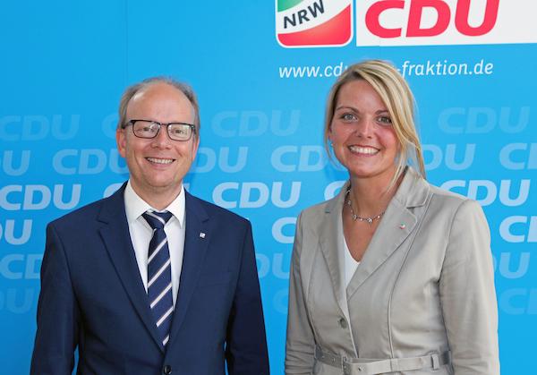 Christina Schulze Föcking zur stellvertretenden Fraktionsvorsitzenden der CDU-Landtagsfraktion gewählt