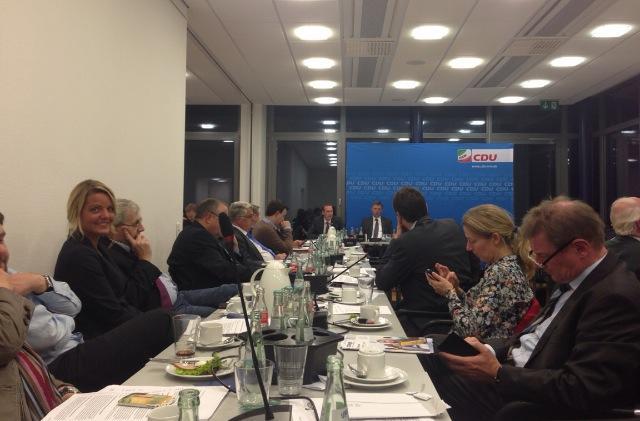 CDU-Landesvorstandssitzung in Düsseldorf