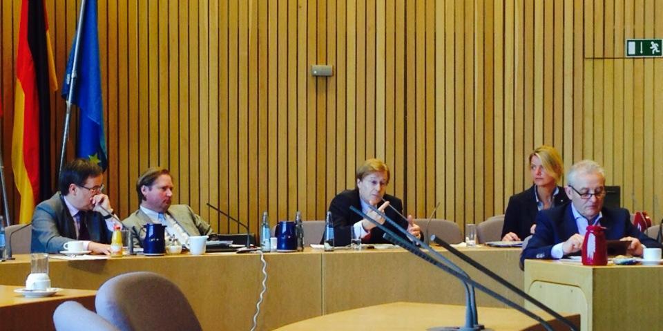 CDU-Fraktionssitzung im Düsseldorfer Landtag