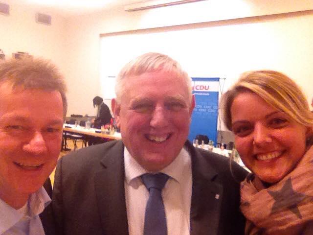 Der Kreisverband Steinfurt war bei der Konferenz des CDU-Landesvorstandes NRW mit den Kreisvorsitzenden gut vertreten