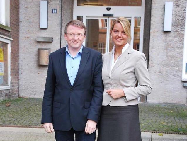Besuch bei Bürgermeister Gregor Krabbe in Metelen