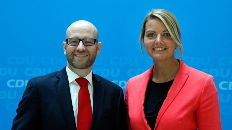 Armin Laschet gratuliert Christina Schulze Föcking zur Wahl als Vorsitzende des Bundesfachausschusses Landwirtschaft der CDU Deutschlands