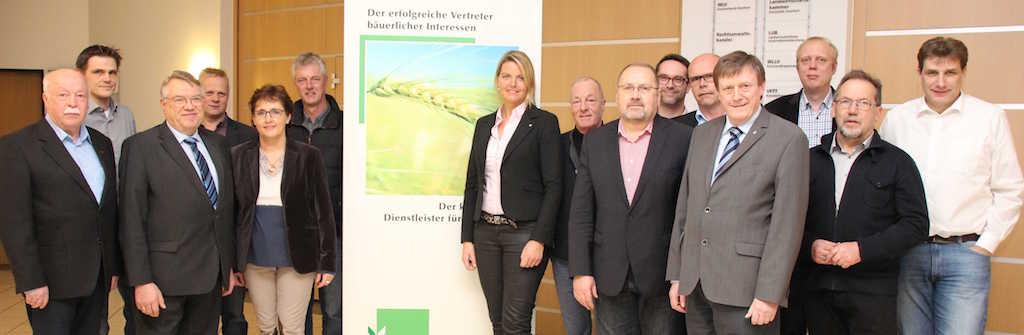Meinungsaustausch mit CDU-Politikern beim WLV-Kreisverband