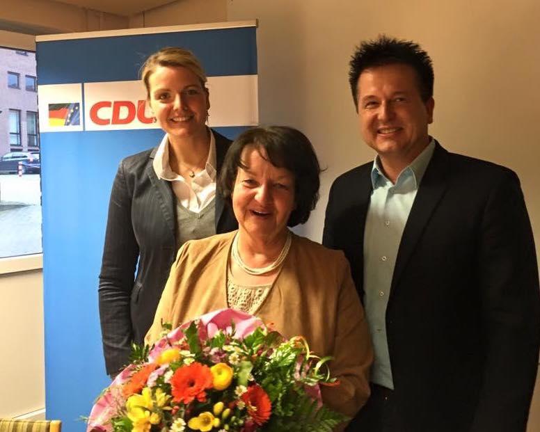 Mitgliederversammlung der CDU Burgsteinfurt mit Vorstandswahlen