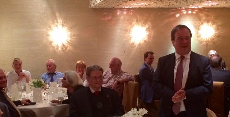 Besuch in Riga: Geprägt von Gesprächen mit dem deutschen Botschafter, Rolf Schütte, Abgeordneten der lettischen Schwesterpartei und Vertretern der Konrad Adenauer Stiftung.