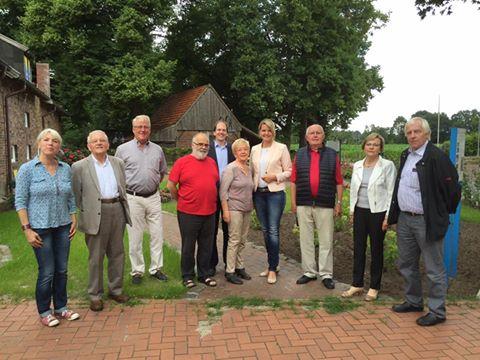 Besuch beim Heimatverein Rheine im Heimathaus Hovesaat