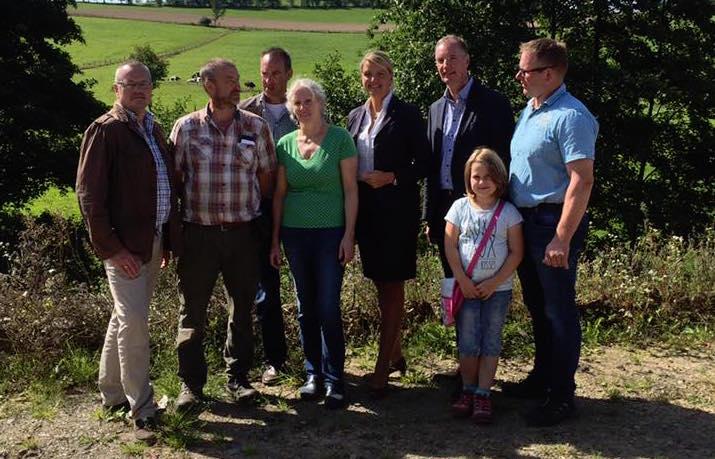Besuch des Milchviehbetriebs der Familie Engels in Drolshagen