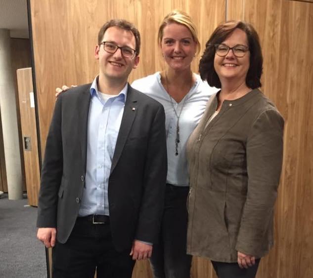 CDU-Bezirksvorstand mit den Steinfurter-Kandidatenkollen Andrea Stullich und Felix Holling
