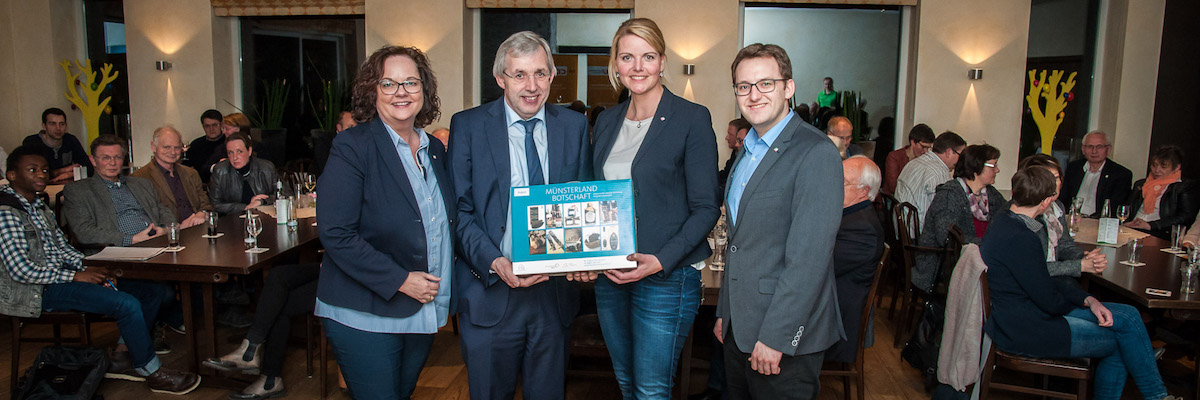 Veranstaltung zur Schulpolitik mit dem Kollegen Klaus Kaiser in Neuenkirchen