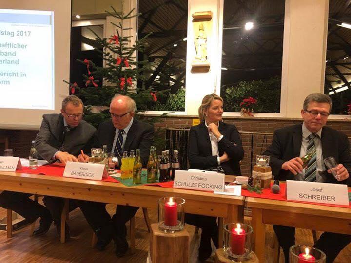 Gemeinsamer Kreisverbandstag des WLV und der Bezirksgruppe der Waldbauern in Olpe