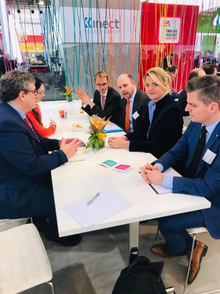 Arbeitskreis Wirtschaft und Energie der NRW Landtagsfraktion auf der Energiemesse E-World