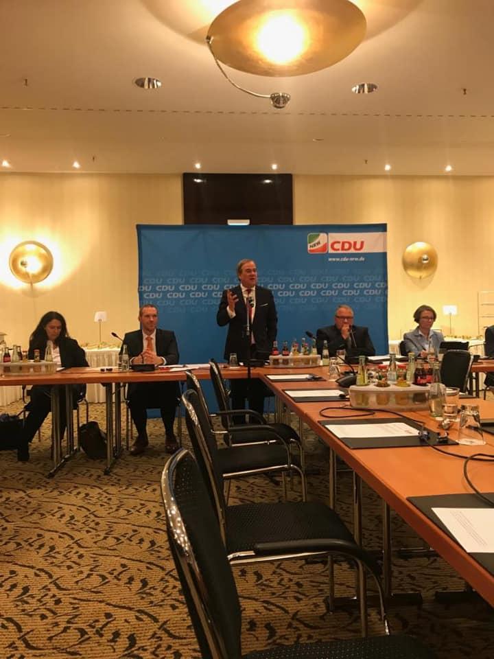 Gemeinsame Sitzung der CDU-Kreisvorsitzenden und des CDU-Landesvorstandes zur Kommunalwahl 2020