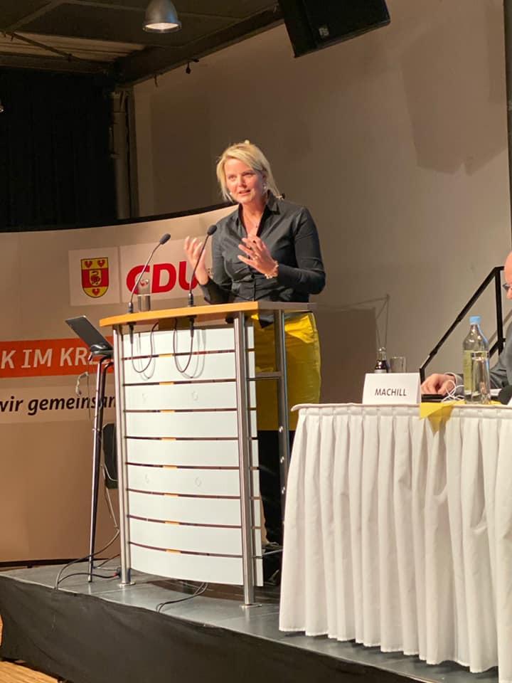 54. Kreisparteitag der CDU des Kreises Steinfurt in Emsdetten
