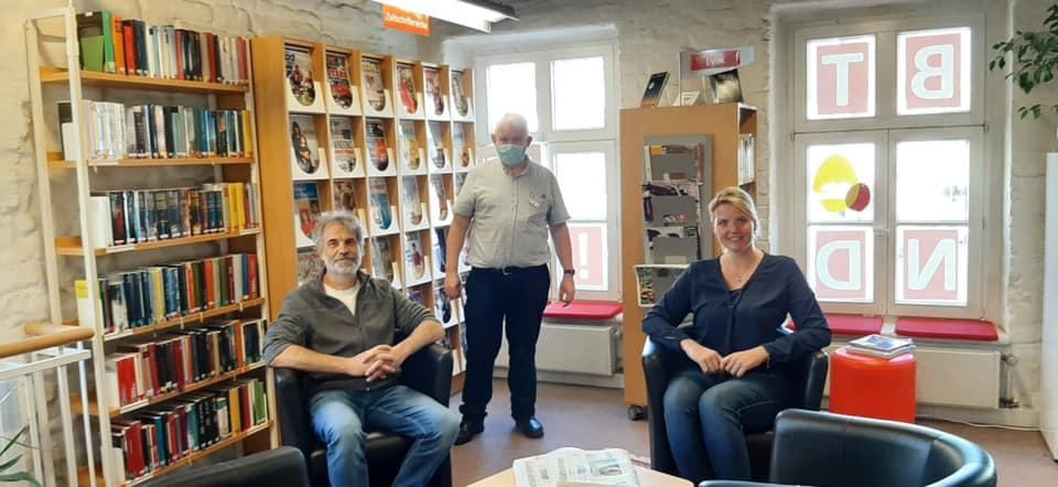 Besuch in der Stadtbücherei Steinfurt