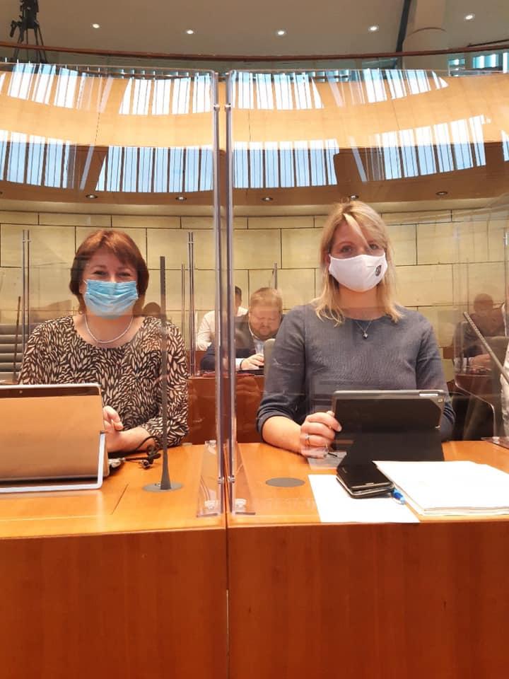 Sondersitzung des Landtags zu den neuen Corona-Schutzmaßnahmen
