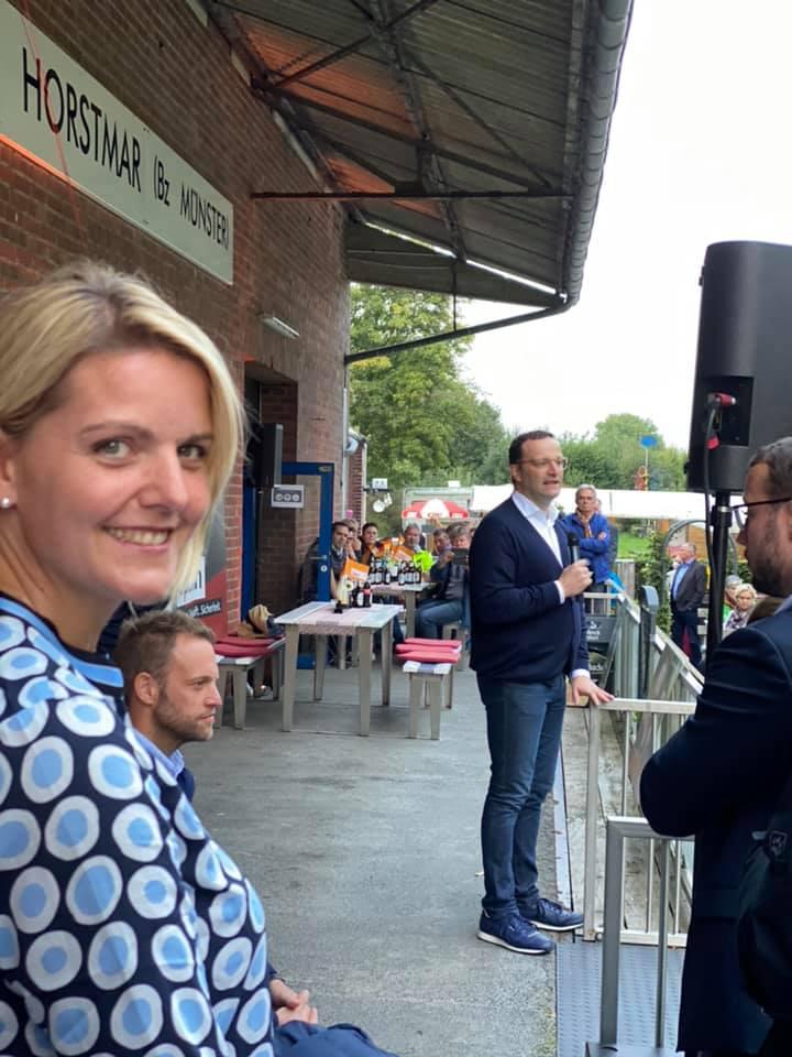 Wahlkampfausklang mit Jens Spahn MdB in Horstmar